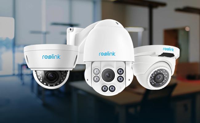 Reolink torreta cámaras ip
