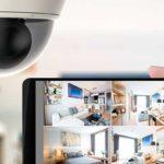 cámara de seguridad para interiores