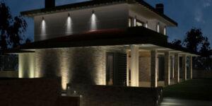 luces exteriores