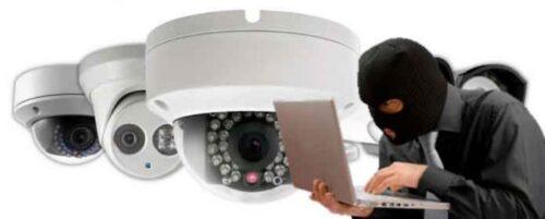 cámaras IP no seguras