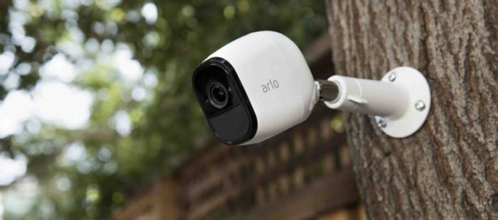 cámara de seguridad a batería 100% libre de cables