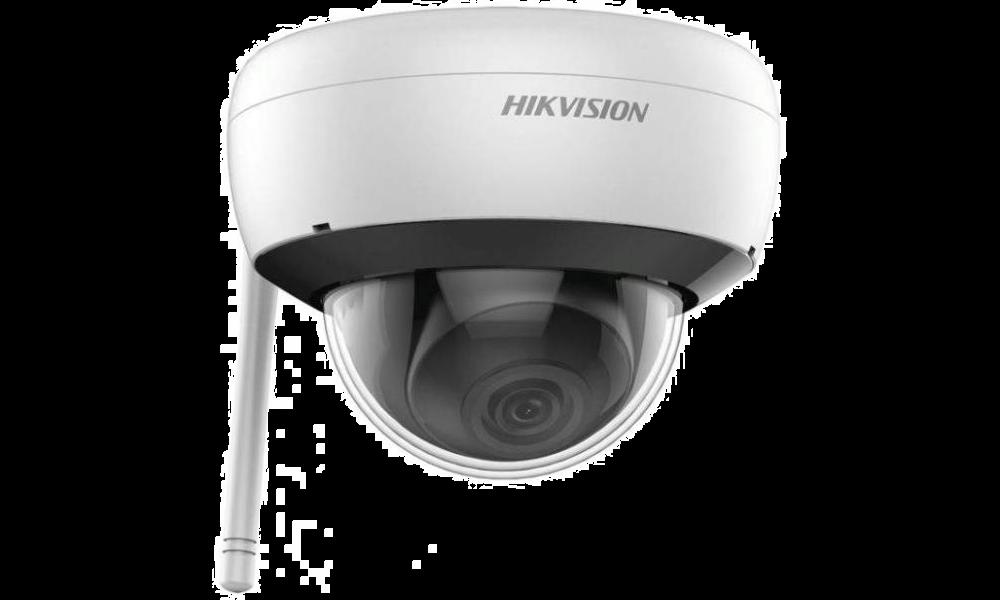 cámara domo hikvision