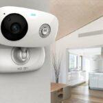 cámara de seguridad IP inalámbrica para interiores
