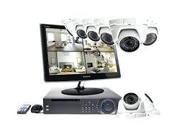 Sistema de videovigilancia con su monitor