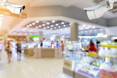 videovigilancia de un centro comercial