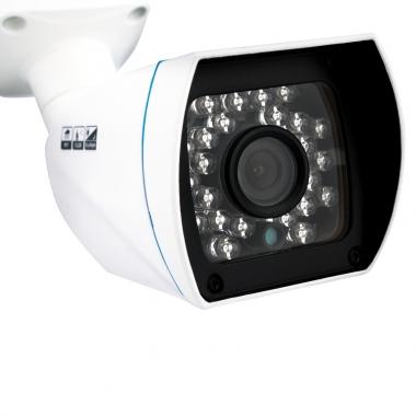 Foto de una cámara CCTV de pared