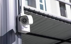 cámara de vigilancia de un almacén