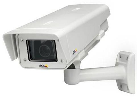cámara de vigilancia de gasolinera