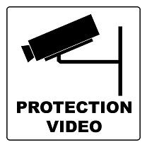 panel de protección de video