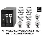 Kit de videovigilancia IP