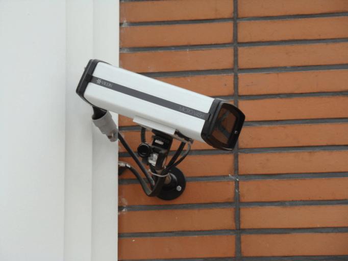 cámara de vigilancia corporativa
