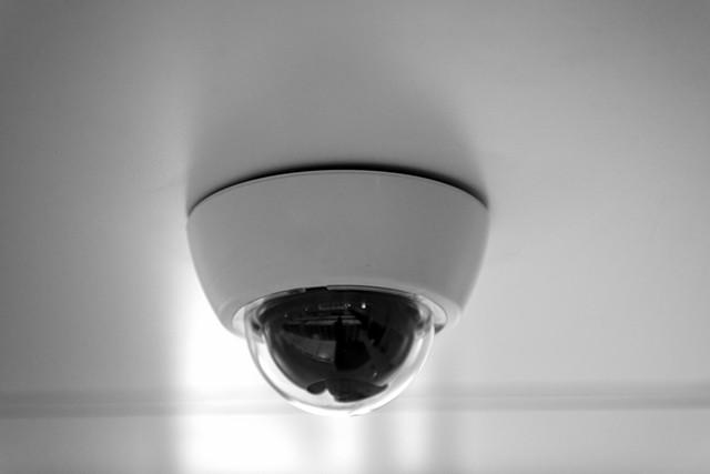 Cámara CCTV para tienda