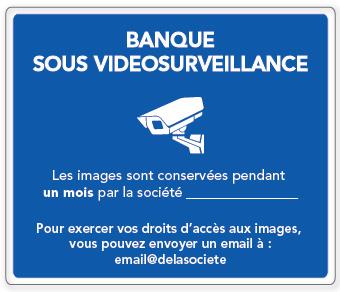 panel de videovigilancia para banco