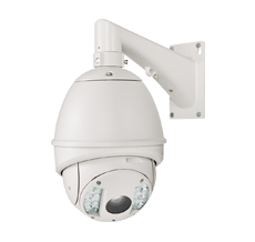 cámara de videovigilancia domo motorizada