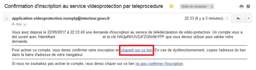 formulario de correo electrónico prefectura de videovigilancia