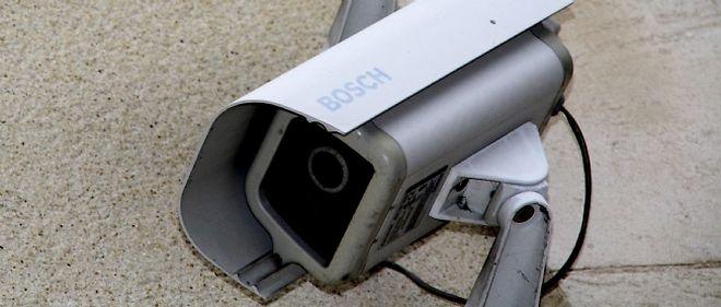 Imagen de una vieja cámara CCTV