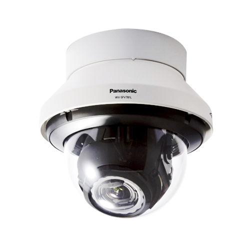 cámara CCTV domo para vigilancia en interiores