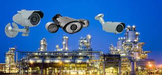 cámaras de vigilancia de fábrica