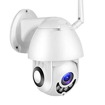 cámara con entrada de audio