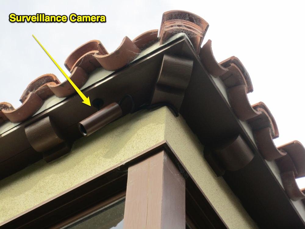 Cámara CCTV camuflada