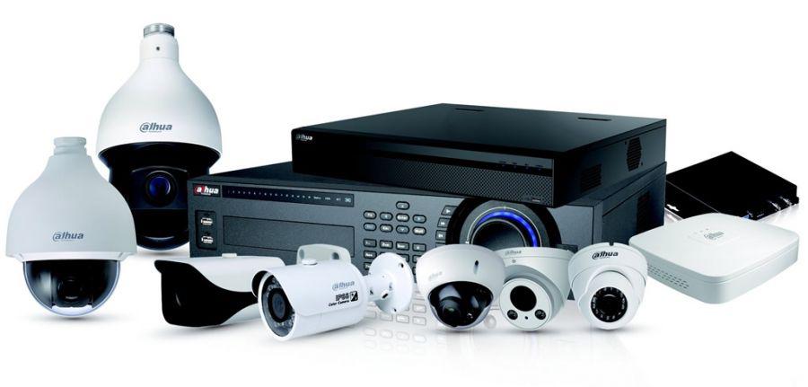completo sistema de videovigilancia