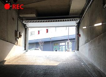 cámara CCTV para estacionamiento