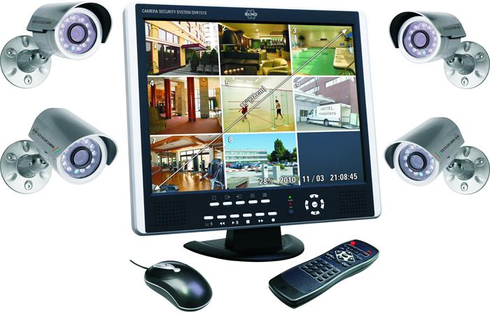 sistema de videovigilancia para el hogar