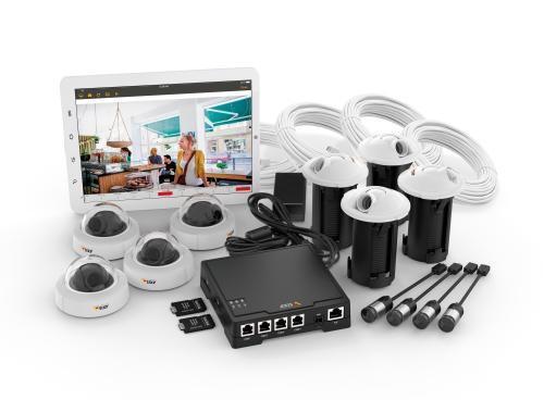 sistema de videovigilancia de fácil instalación